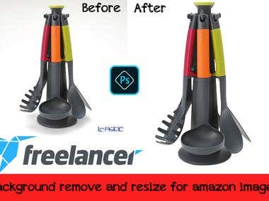Background remove and clipping path