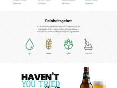 Gats Beer - website