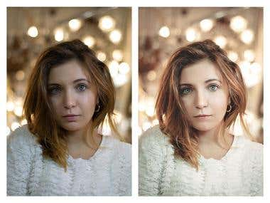 Before/After Photoshop