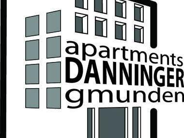 apartments DANNINGER gmunden logo contest