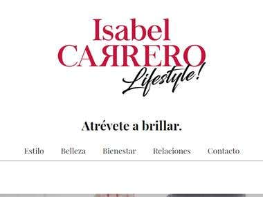 Isabel Carrero LifeStyle