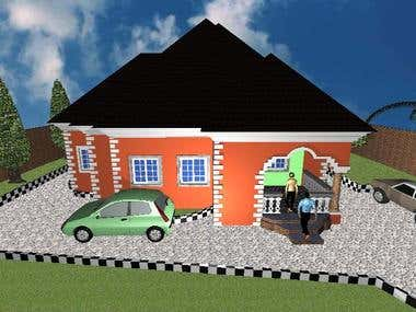 A 3 bedroom residential development