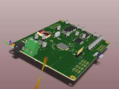 Digital Audio Level Control Board