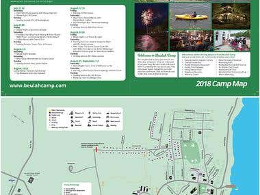 Camp Map & Summer Schedule