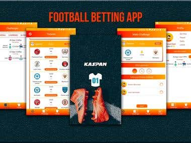 Social Football Betting App
