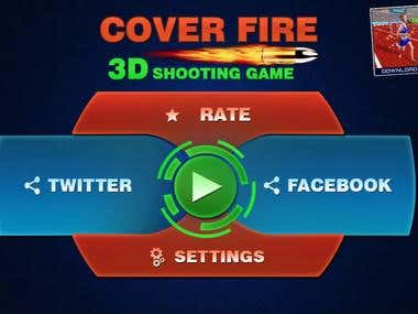 Third Person shooting game