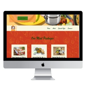 Online meal order and provider registry