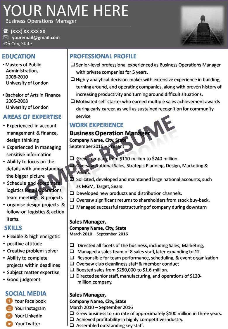 An expert in delivering high quality resumes & cover letters