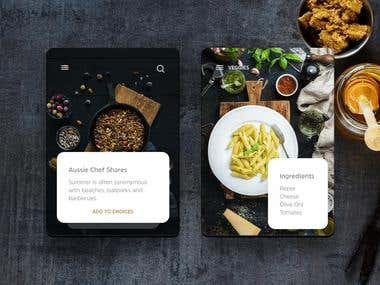 Food Restaurant App