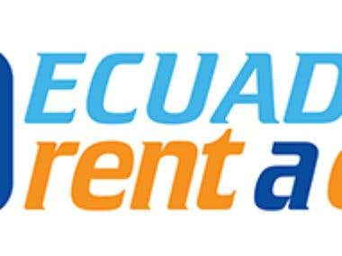 Logo Design - Ecuador Rent a Car