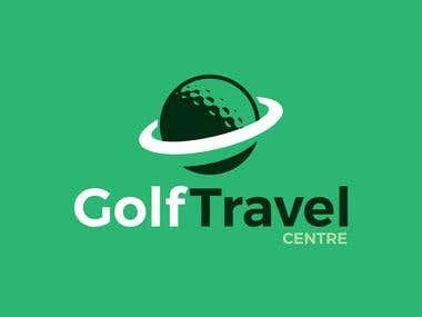 Logo for a Web Company called Golf Travel Centre