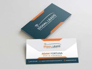 Latest Business Card Designed.