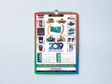 Calendar Design (Chowdhury Motors)