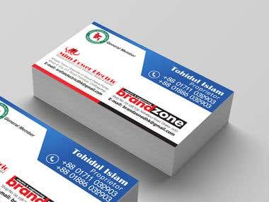 Business Card Design (Brand Zone)