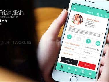 Mobile App Design UI /UX