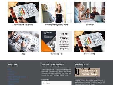 WordPress Website Development Worked