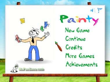 "Puzzle Flash Game ""Painty"" 