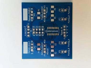PCB Layout - Digital Signal Derivation Board