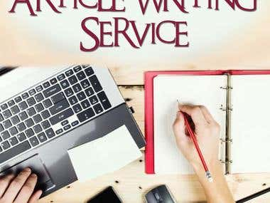 Article Writing(Professional Writer)