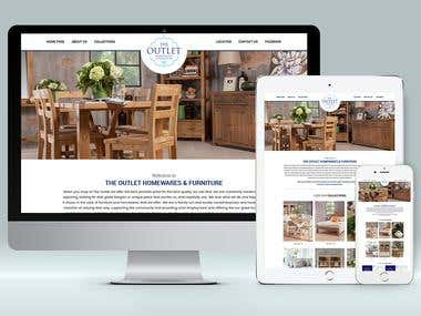 The OUTLET Furniture & Home ware -Wordpress