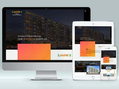 Real estate website - HTML5,Css