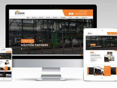Manufacturing Website design -Wordpress