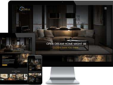Interior Decorator -Static Website
