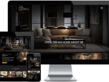 Interior Decorator -Static Website