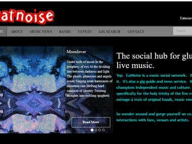 Social Networking Site for Musicians and Fans
