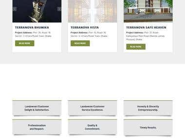 Real Estate business Web site