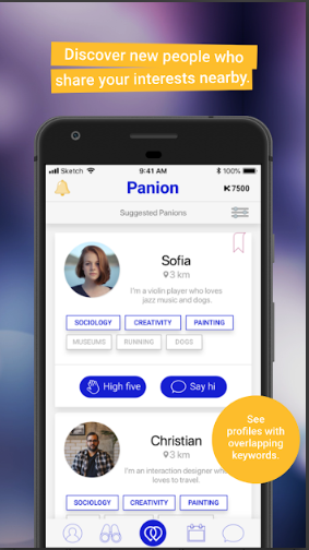 Panion - Make Friends with Common Interests