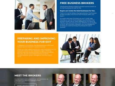 Business Broker Web Site
