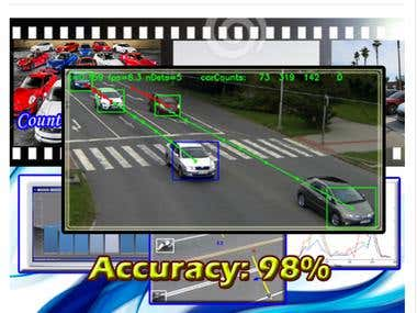 Vehicle detection and count