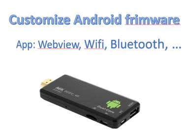 App development and Smart TV firmware customization