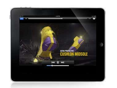 Nike Tablet Application