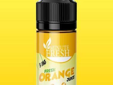 Minute fresh e liquids