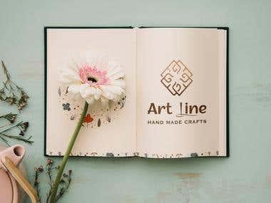 Art Line Logo & Identity