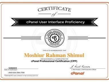 cPanel Professional Certification (CPP)