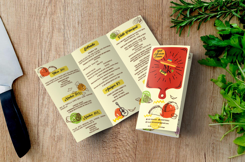 Food Menu (Trifold)
