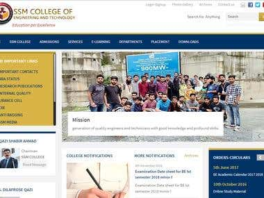 Full fledged CRMS of SSM College of Engineering