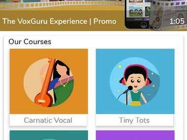 VoxGuru Mobile App