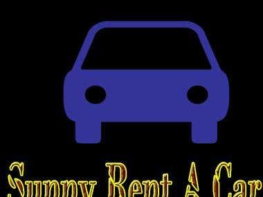 logo design for rent a car business or cab service busines