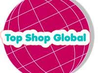 TopShopGlobal.com Christmas video and Logo