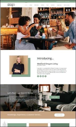 Real Estate Agent Website Development - Susan St. Martin RE