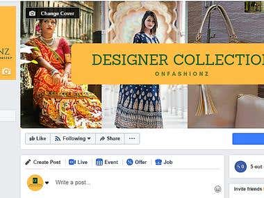 Created Facebook Fan Page