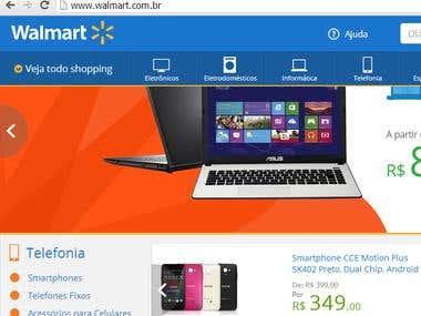 Walmart Webstore