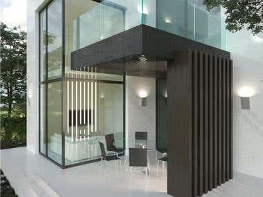 3D REALISTIC EXTERIOR DESIGN