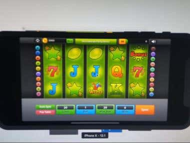 Slot Game using IOS