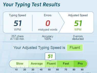 Typing Skill