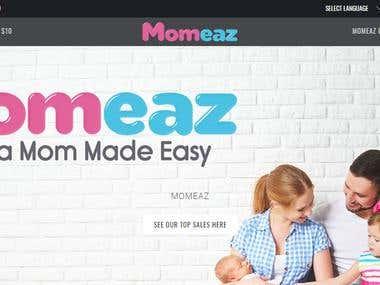 Momeaz Shopify Store